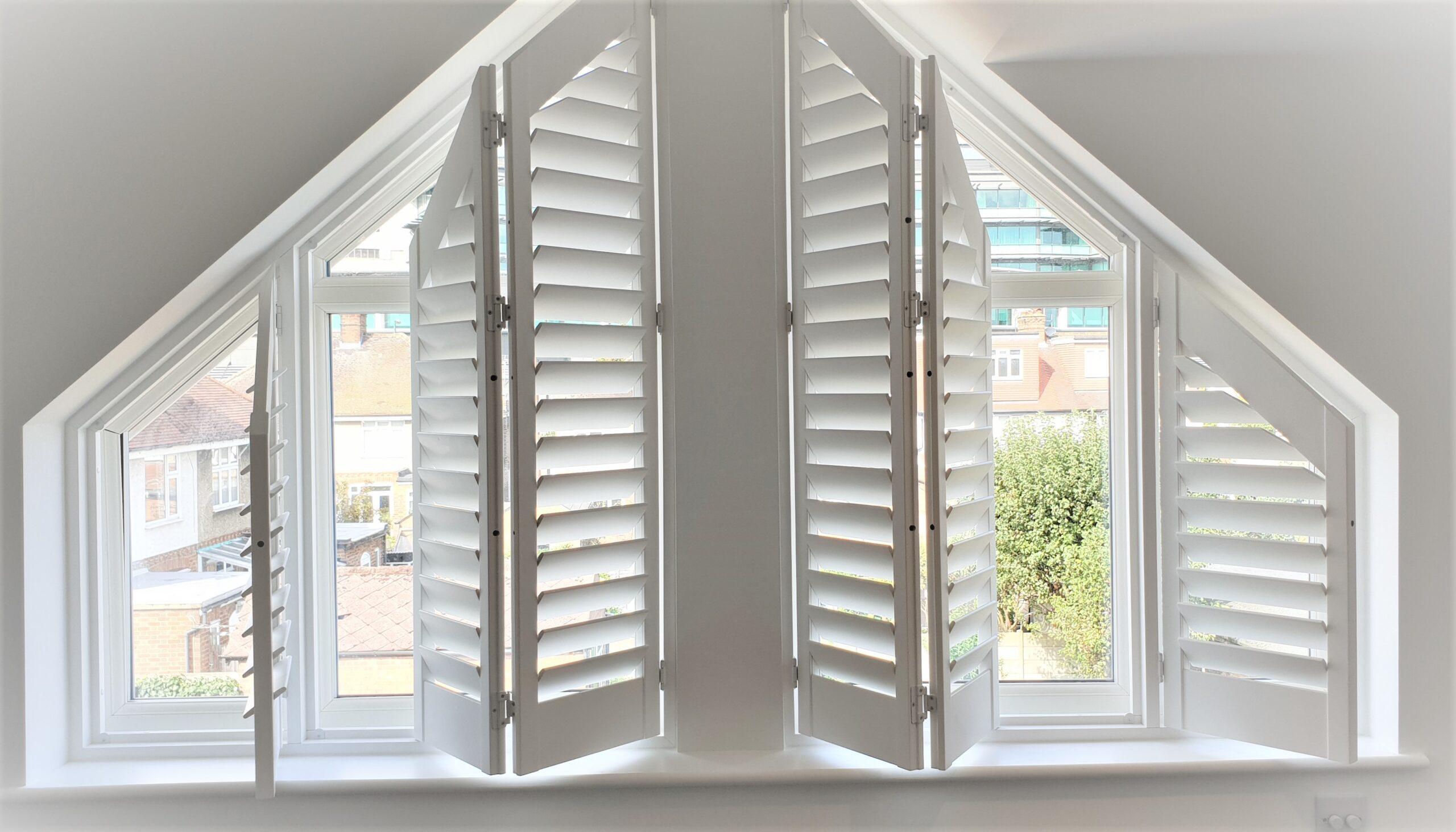 Shaped shutters