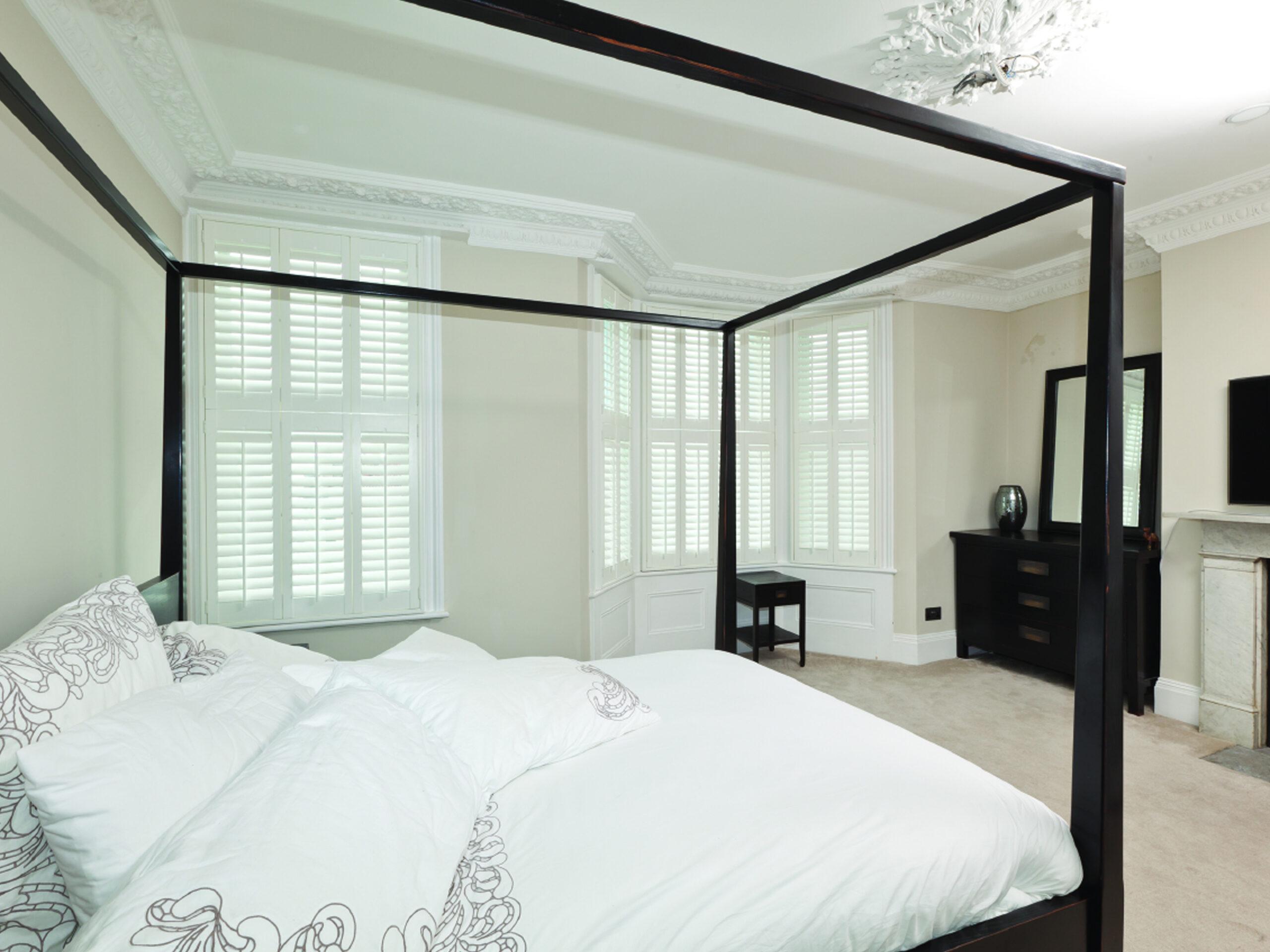 Bedroom wooden shutters 1