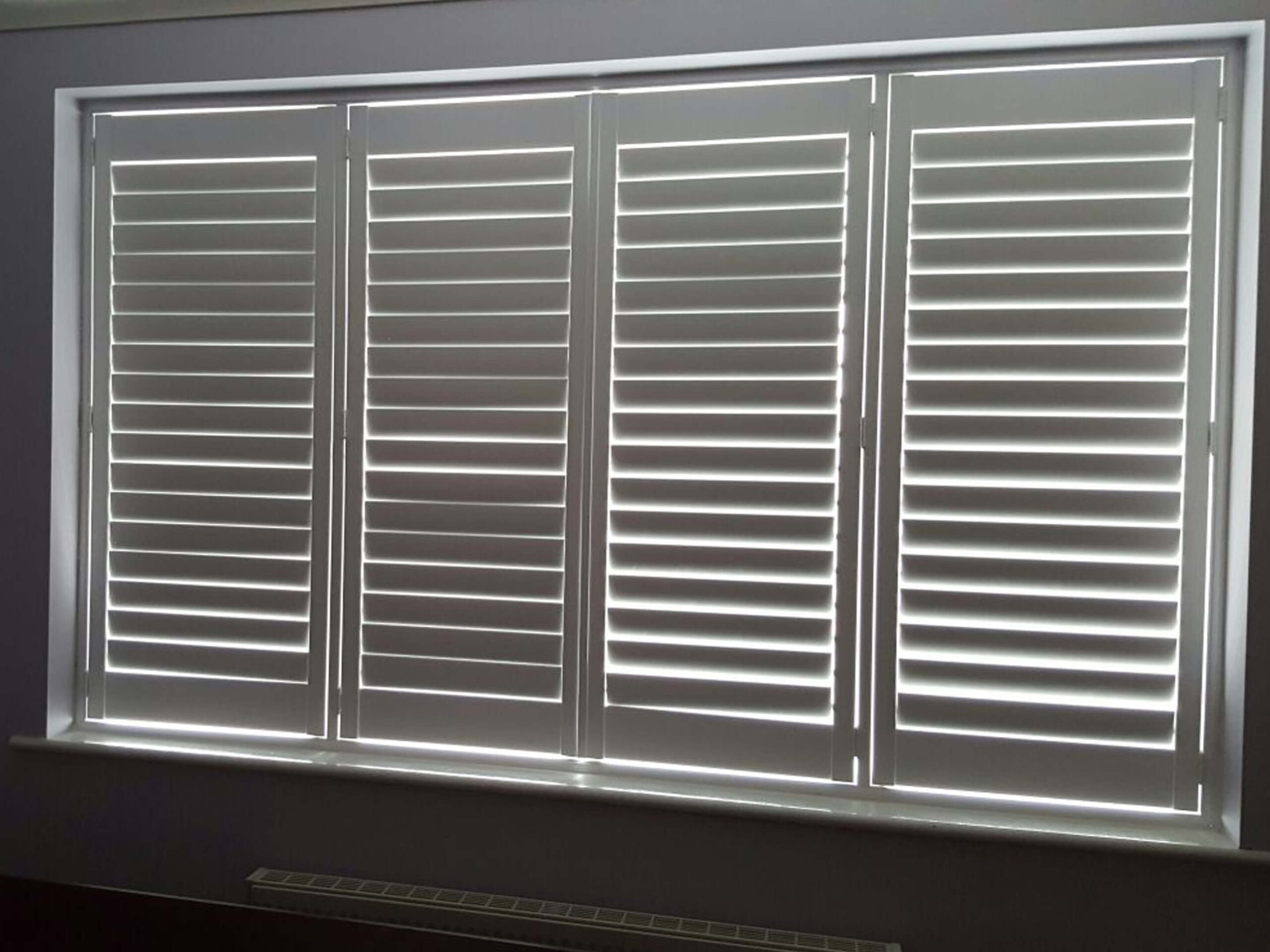 Dining Room Shutters 1