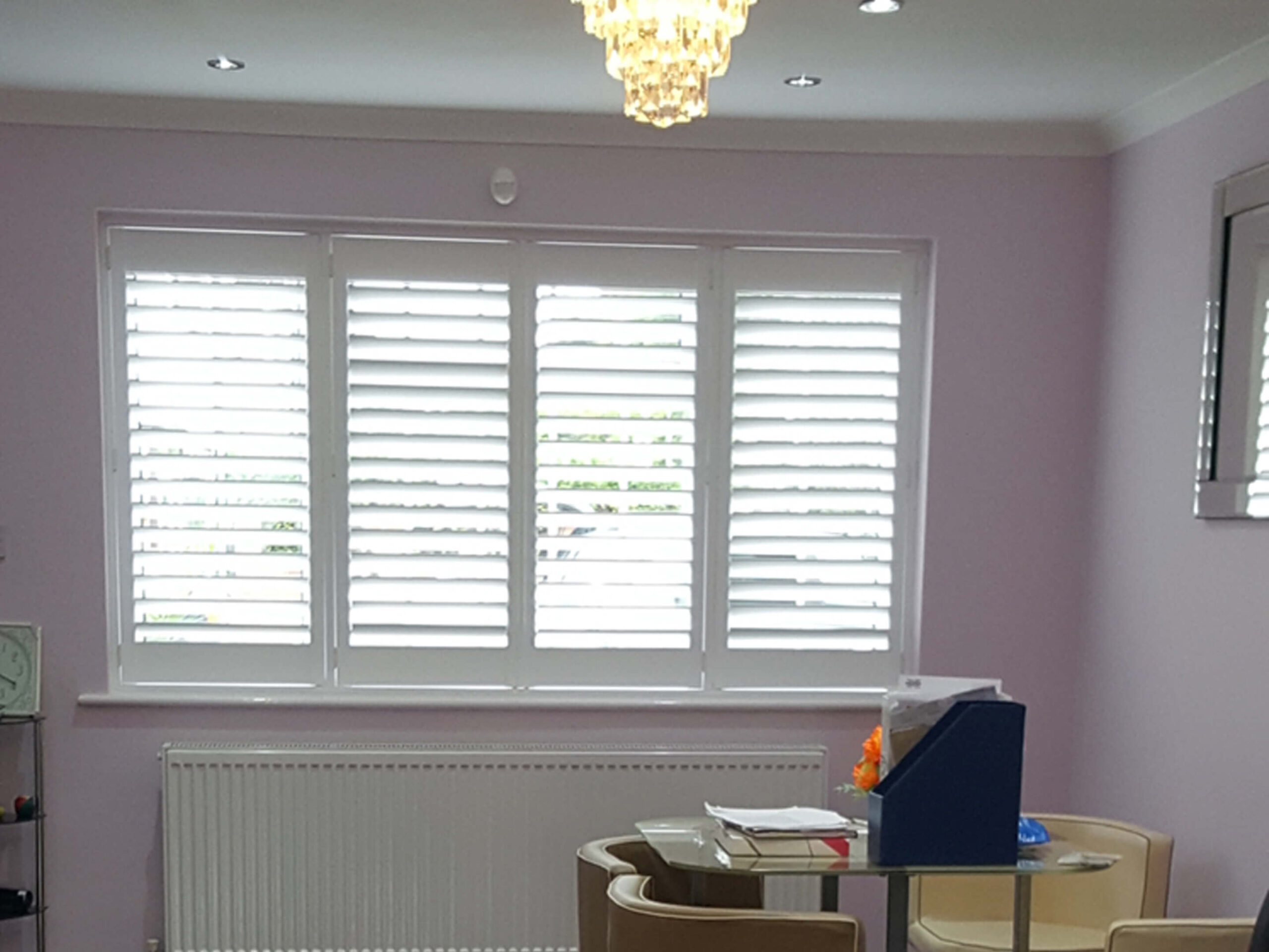 Dining Room Shutters 3