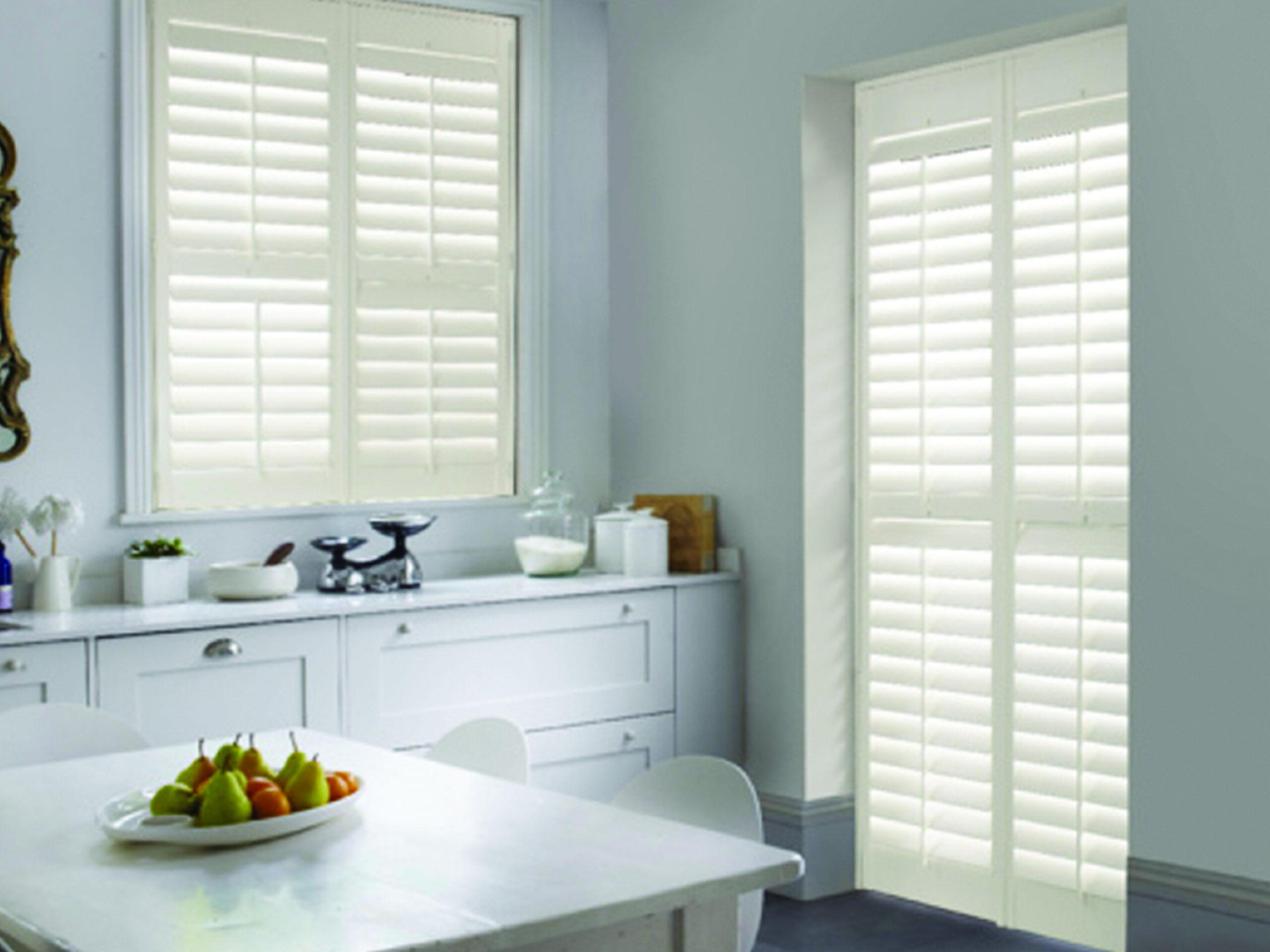 Kitchen wooden shutters 1 1